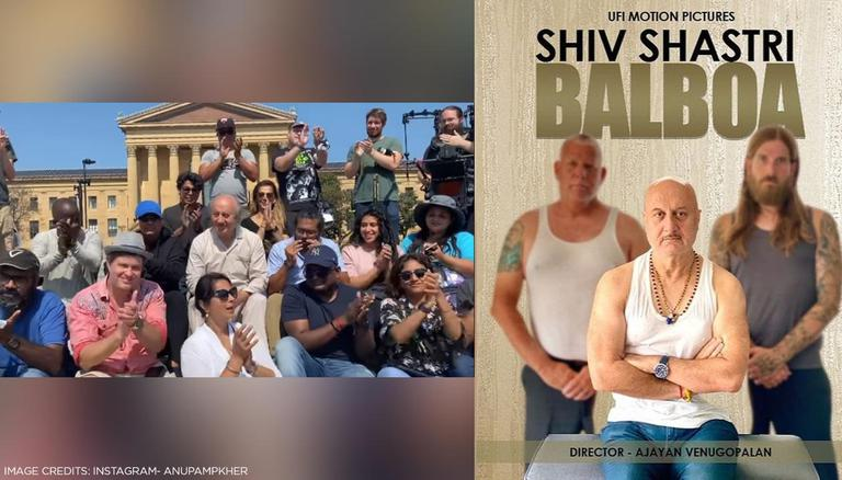'What A Roller Coaster Ride': Anupam Kher Wraps Up 519th Film, 'Shiv Shastri Balboa'