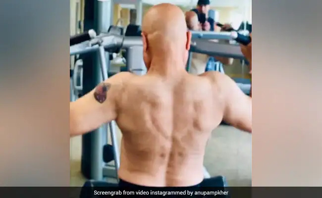 Need Workout Motivation? Here's A Video From Anupam Kher's Training Session