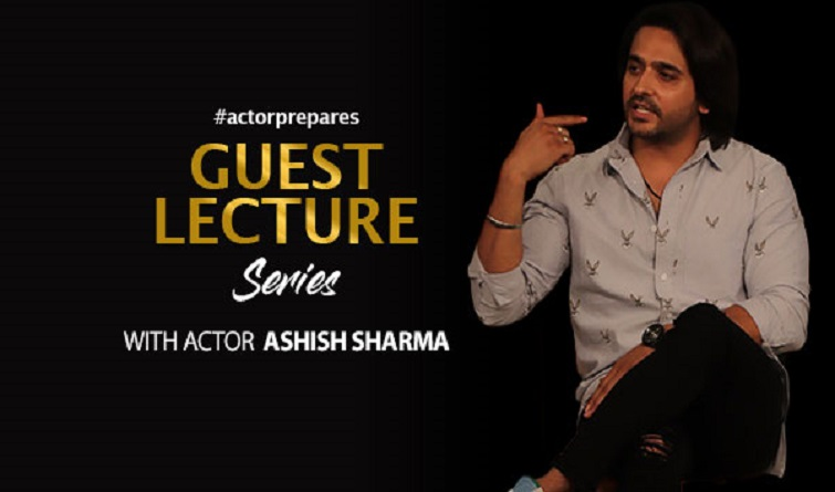 Guest Lecture with television star Ashish Sharma
